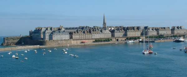 This is a view of St Malo.